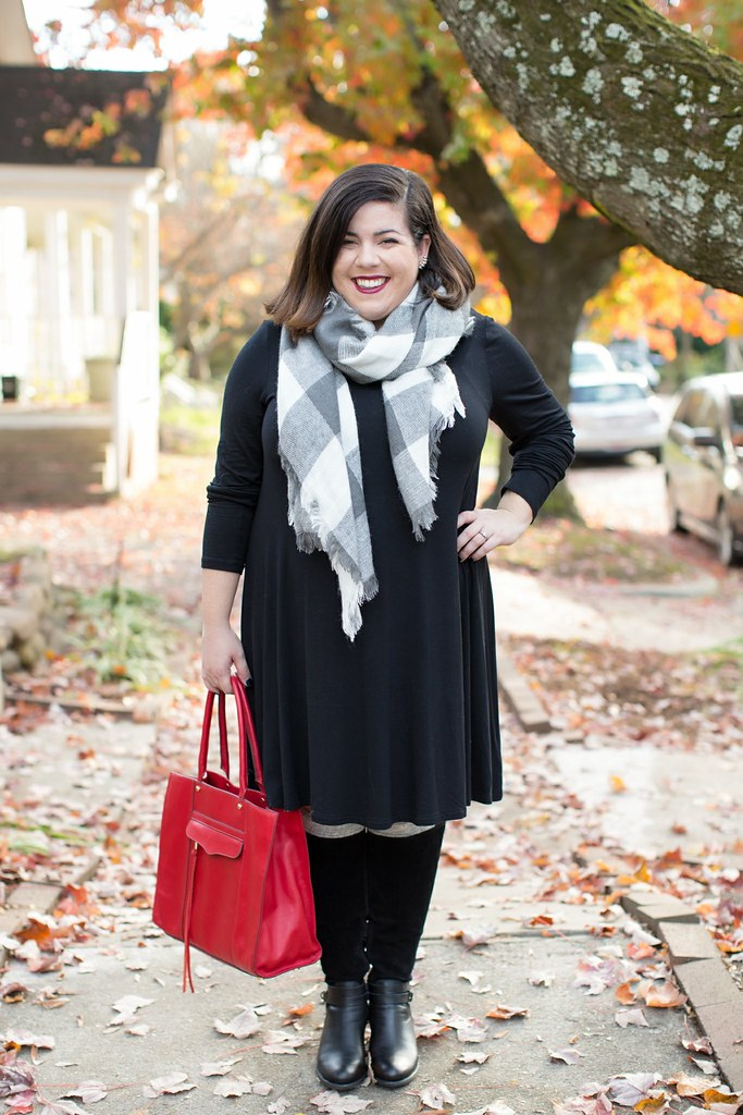 old navy swing dress, head to toe chic