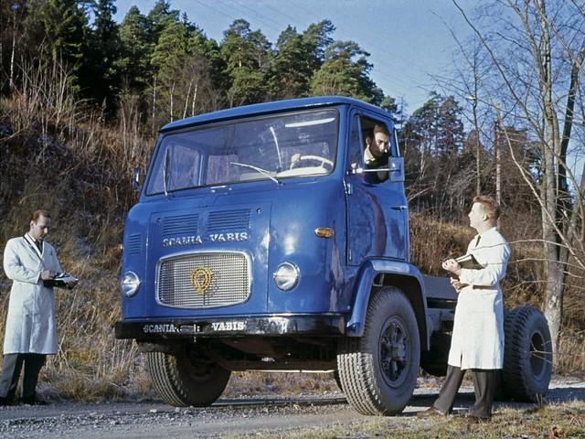 Тягач Scania-Vabis LB76 4x2. 1963 год