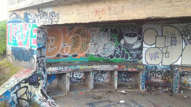 Strzelecki Fort Graffiti