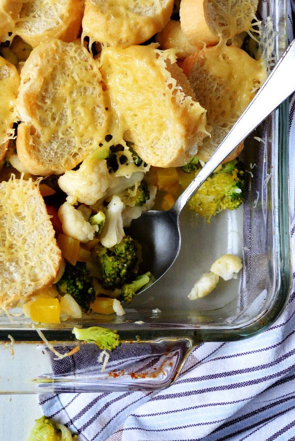 Geschikt als vegetarisch gerecht, maar ook lekker in combinatie met gehaktballetjes.