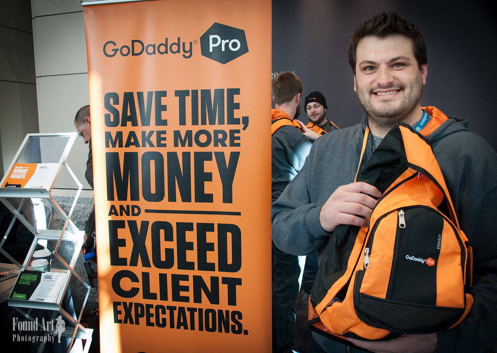 2015 WordCamp US - GoDaddy, Sponsor