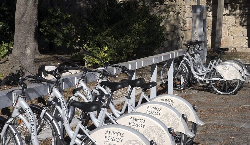 rhodes bike sharing cyclopolis