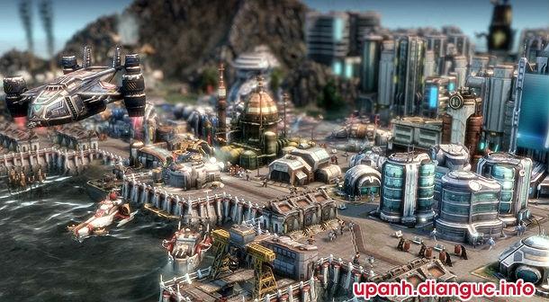 tải game chiến thuật Anno 2070 crack cho pc