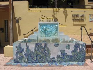 The Netherland Art Deco Fountain