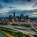 Downtown Houston Skyline by Chris Olbekson