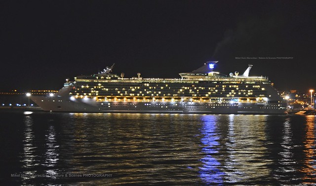 Navigator Of The Seas, desde Portugalete, Bizkaia