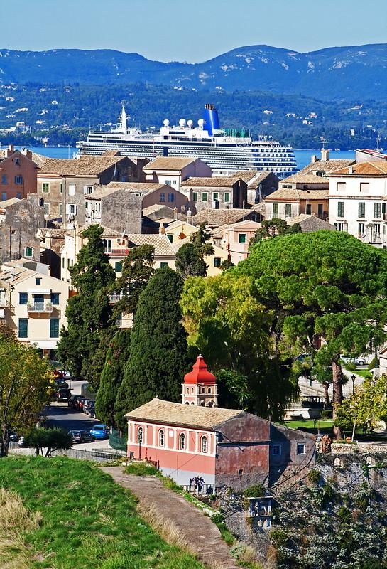 Mandrakinas Church, Corfu