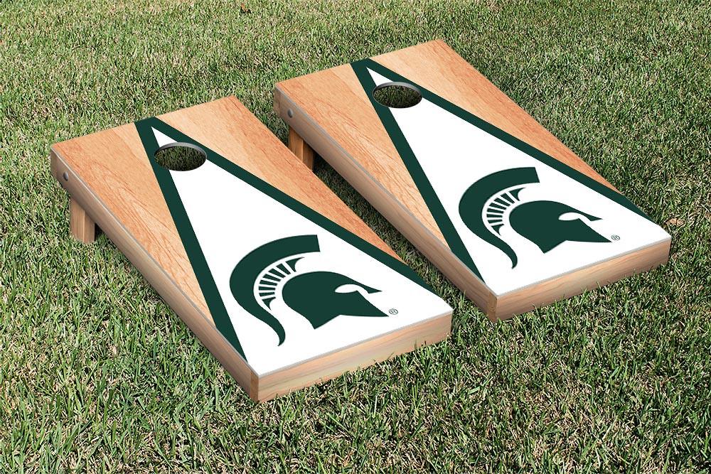 Michigan State Spartans Triangle Hardcourt Board