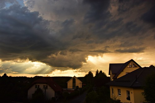 sunset sky storm clouds germany deutschland thüringen europe thuringia nikkor tyskland woooow thüringerwald albrechts alemaña