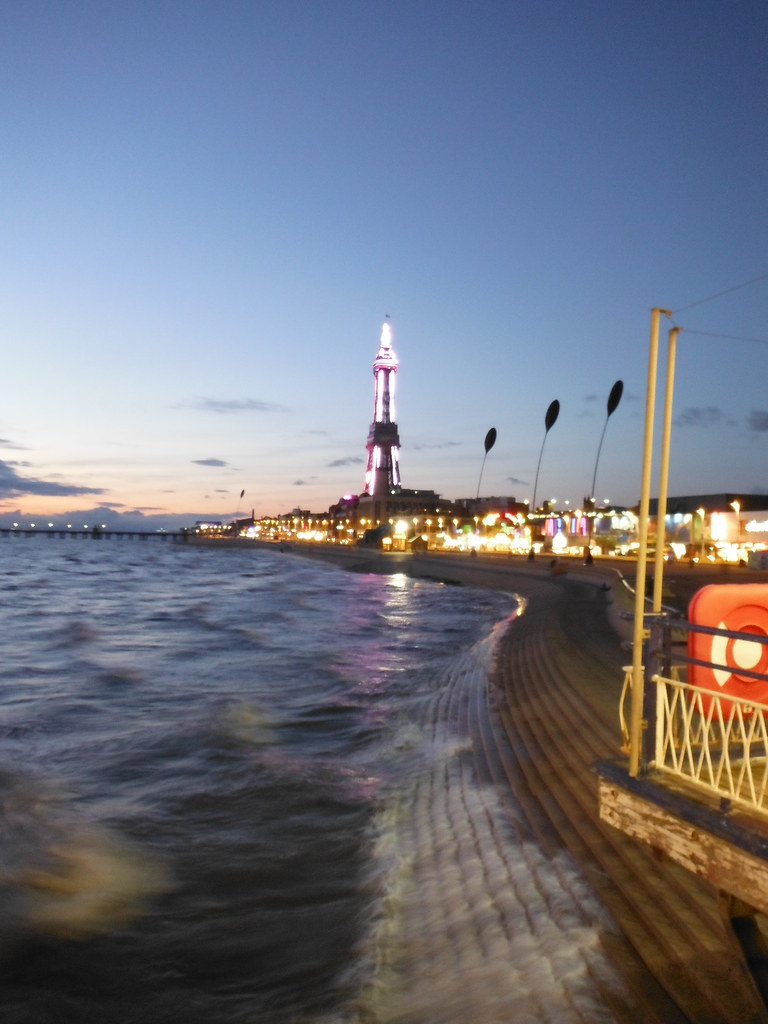 Blackpool From Central Pier 4