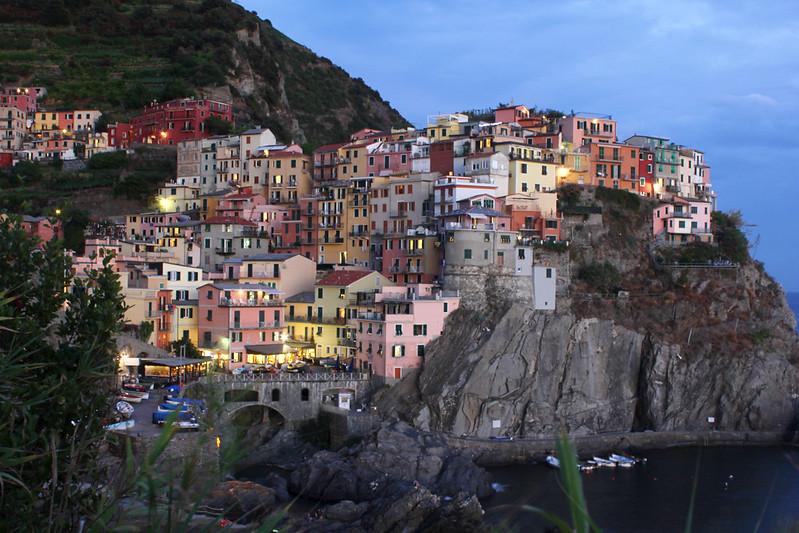 Vernazza Cinque Terre twilight