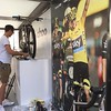 Caught @illstuff setting up the @wahoofitnessofficial #eurobike booth. We'll have @gozwift running all week too. Swing by the #wahoofitness Booth: No. FG-A5/9 next the Cooper Bikes booth outside. by twotoneams