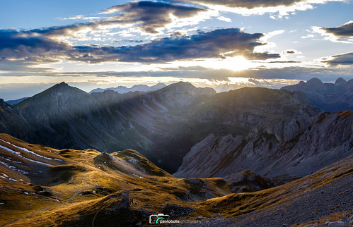 Sunset at Passo Selle... Dolomites, Italy