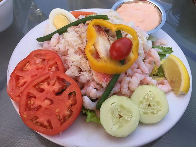 Sinbad's crustacean salad - Sinbad's Pier 2 Restaurant