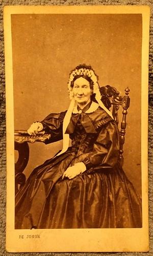 Grandma Lily in Geneve 1871