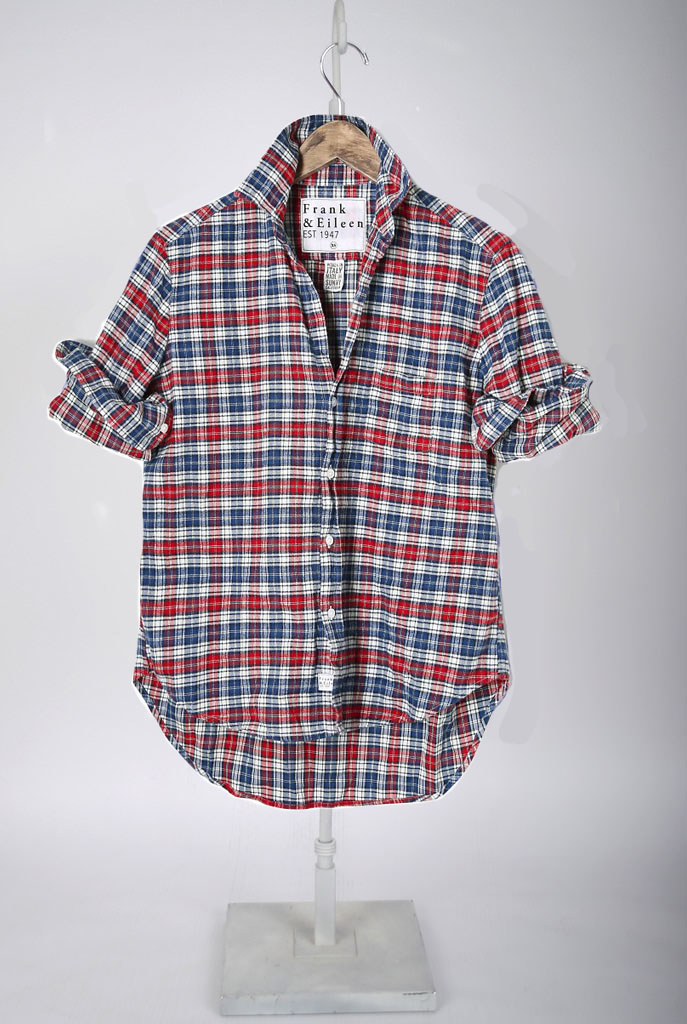 The Barry Shirt - Red & Blue Plaid