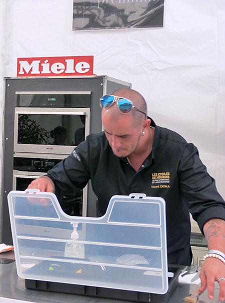 Vincent catala et sa boîte à outils
