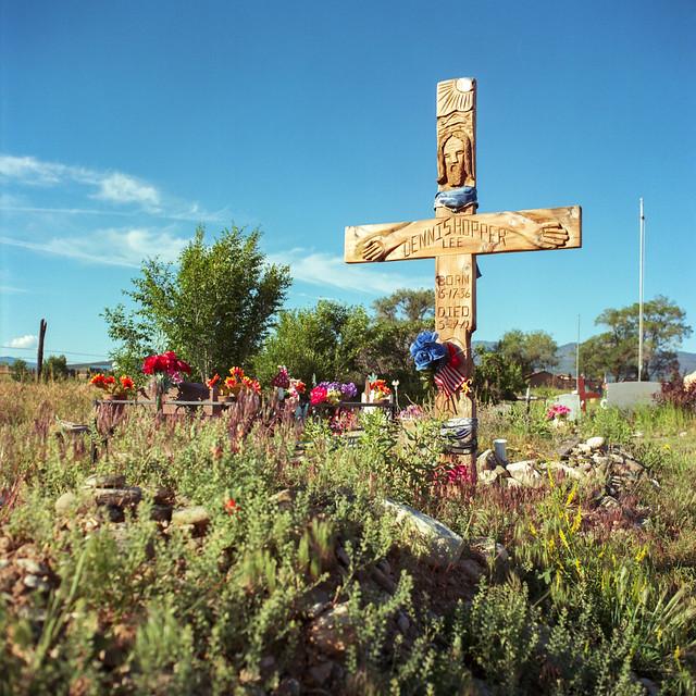 The Grave of Dennis Hopper