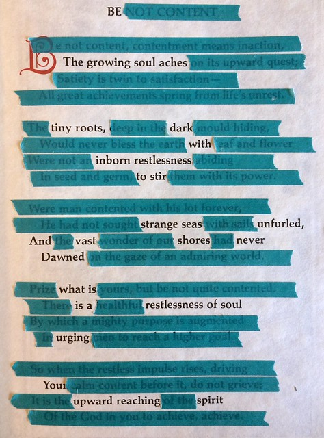 Be #foundpoems #foundpoetry #alteredbooks #poems #poetry #blackoutpoems #blackoutpoetry