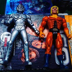 A couple of rad bootlegs I got the other day #fleamarketfinds #bootleg #actionfigures #spacesheriffgavan #sabertooth #xmen #TomKhayos #ToyGameScroogeMcDuck #toyfinds #toyhunting #toyhustle #toyhorder #90s