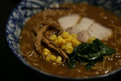 Torigara Shoyu Miso (Japanese Chicken Soy Sauce Bean Paste) Ramen 6