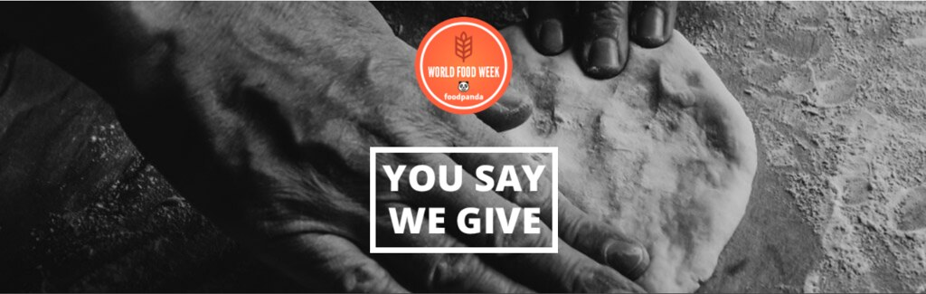 World Food Week: You say, we give