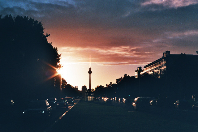 Karl-Marx-Allee // Evening Sky