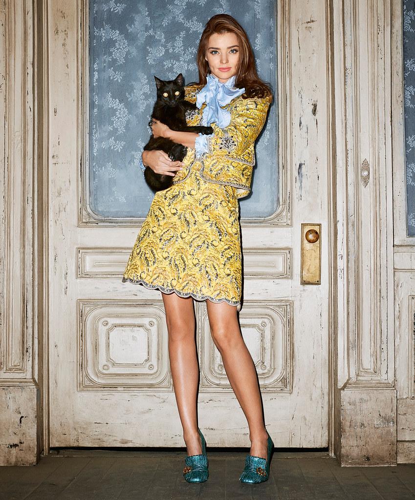 Миранда Керр — Фотосессия для «Harper's Bazaar» 2015 – 13