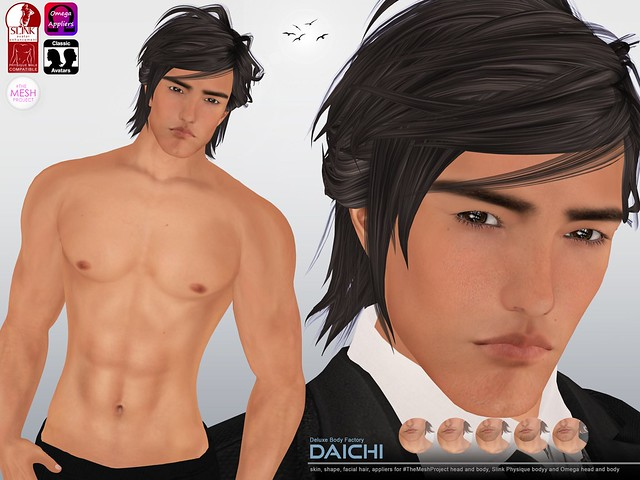 [DBF] Daichi skin and shape appliers