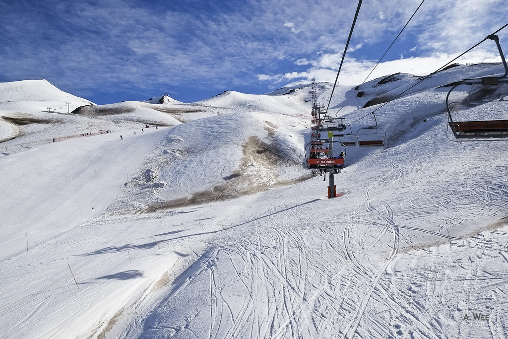 The Mirador quad chairlift