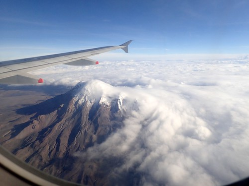 ecuador aerialview andes volcanoes geology