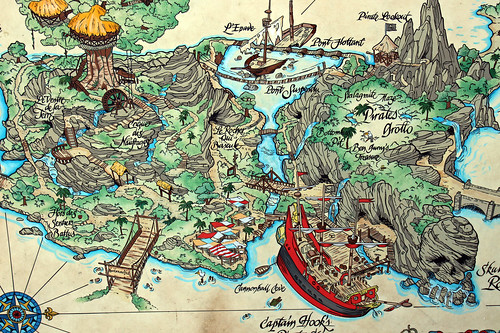 Adventure Isle map detail