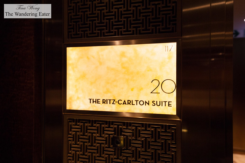 Entering The Ritz-Carlton Suite