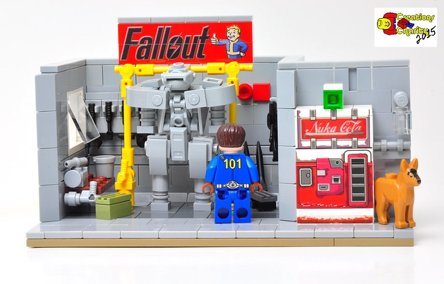 Fallout 4 The Nuclear Apocalypse Lego Style The