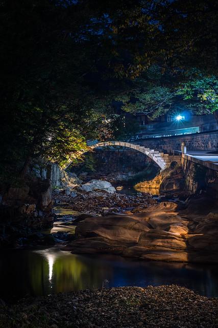 Night view, Yangsan, Korea