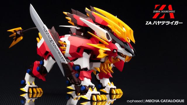 Kotobukiya - Zoids Aggressive Hayate Liger