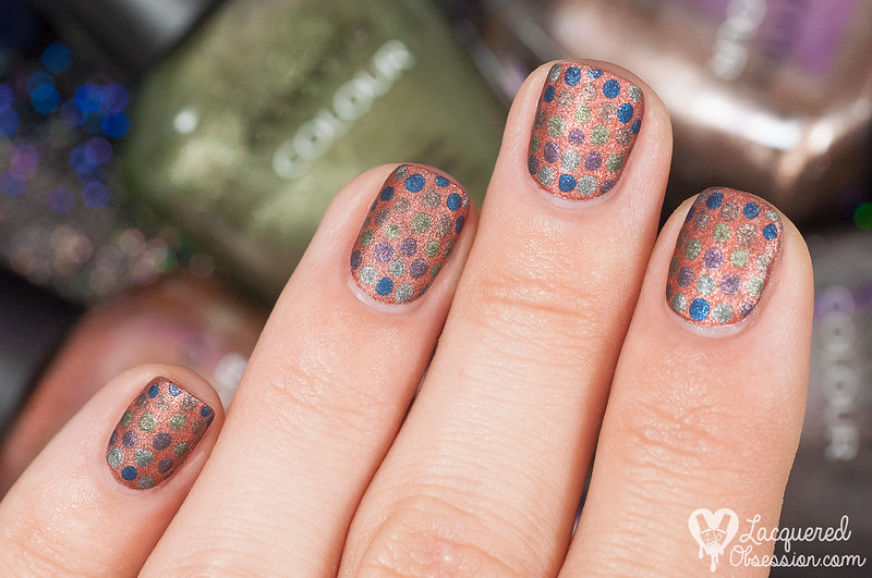 Lacquered Obsession for Modeláž Nehtů - Fall Dots