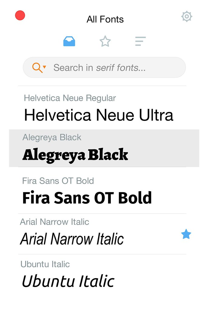 RightFont 4.0  Manage and find fonts quickly; integrates with Photoshop and Sketch