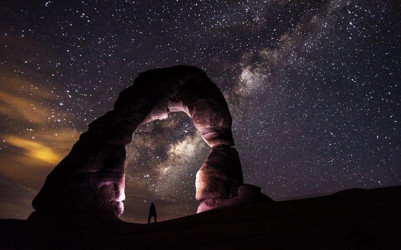 Une photo de la voie lactée constituée de 46 milliards de pixels