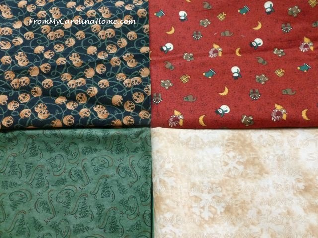 Christmas Mystery Quilt Along - 1