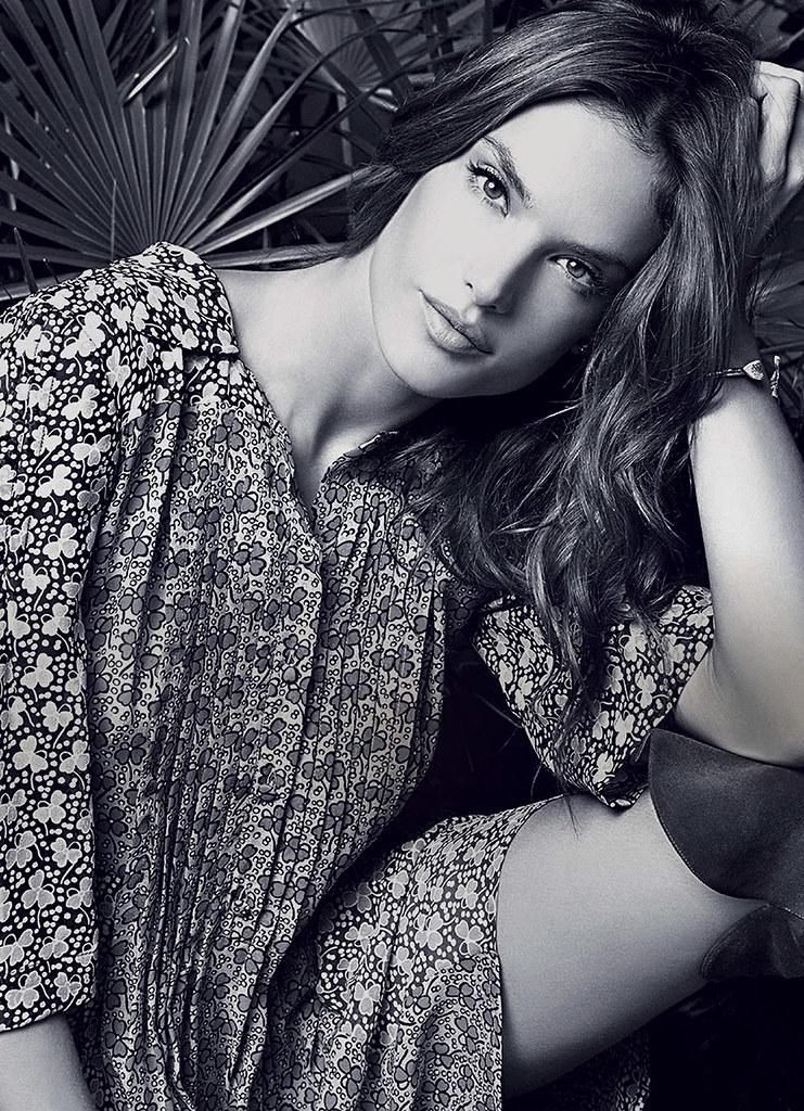 Алессандра Амбросио — Фотосессия для «Glamour» IT 2015 – 4