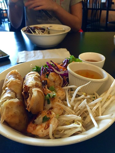 November 21 #dailylunches - vermicelli bowl at the Spring Roll House