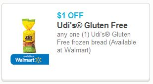 Udi's Gluten Free Product Coupons