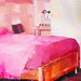 Motel Room with Pink Bedspread by ruthie ann