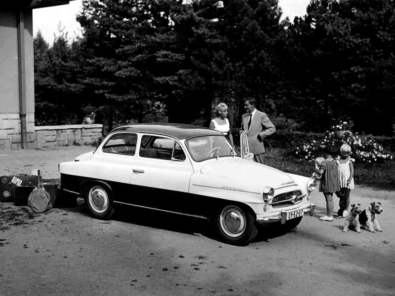 Купе Škoda Octavia (Type 985). 1959 – 1964 годы