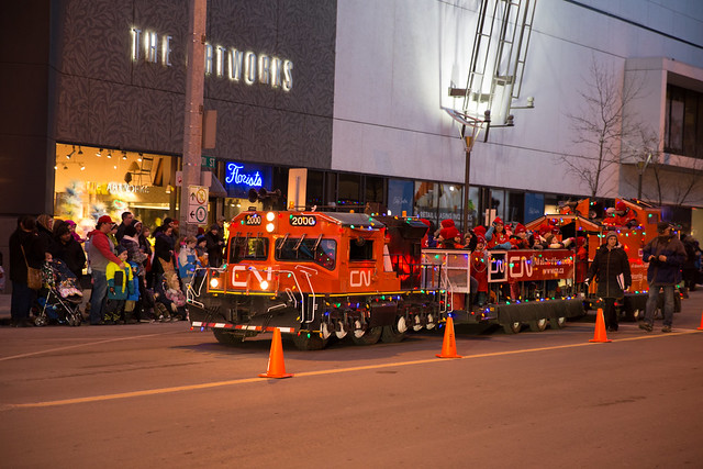 Santa's Parade of Lights