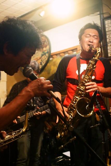 """improvisation lagoon"" at Crop Crop, Tokyo, 06 Nov 2015. 298-c15"