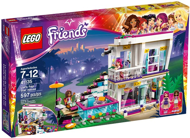 LEGO Friends 41135 - Livi's Pop Star House