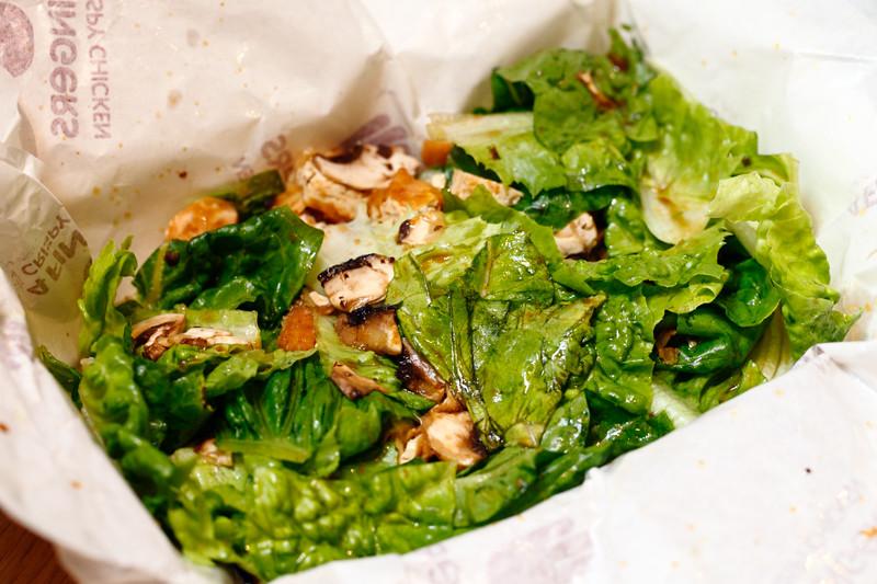 Mushroom & Tofu Salad