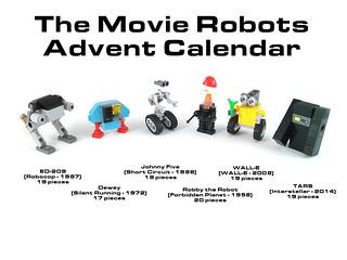 The Movie Robots Advent Calendar